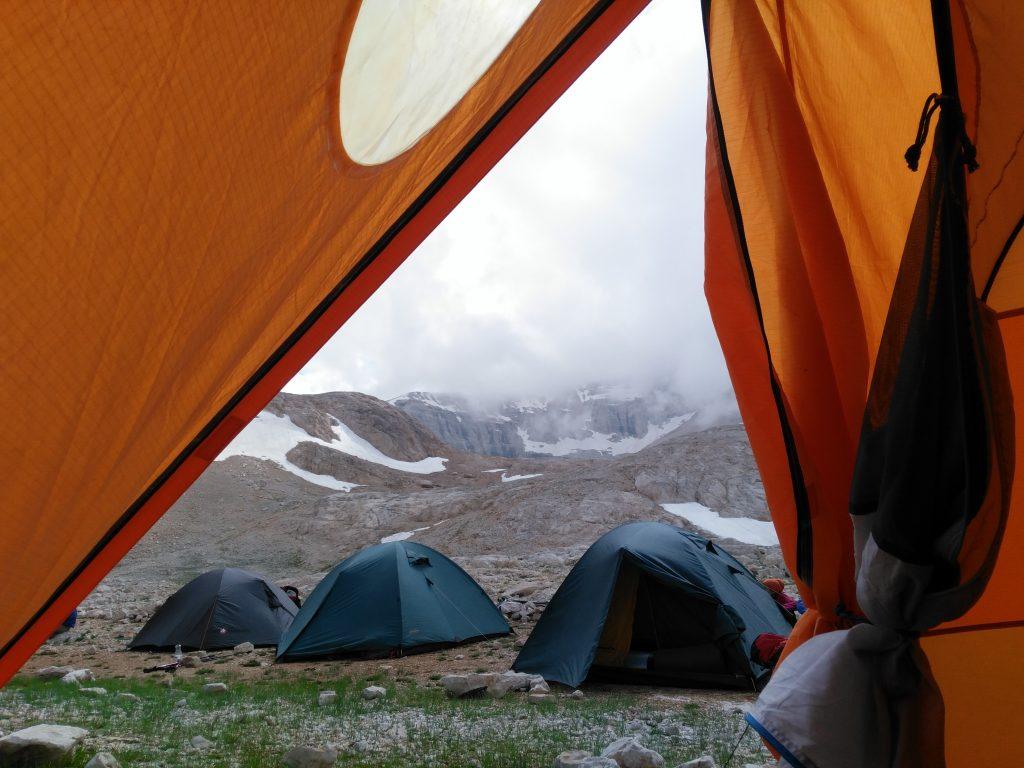 Yedigöller'deki Kamp Alanından