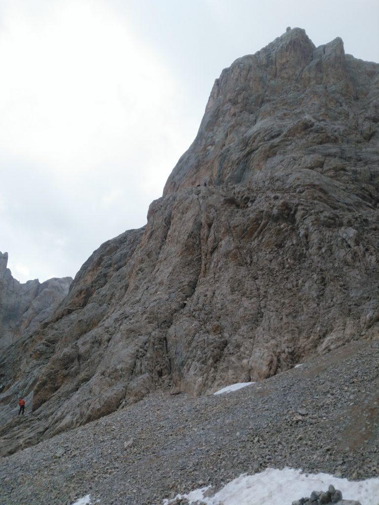 60 metre ip inişi yaptığımız yer