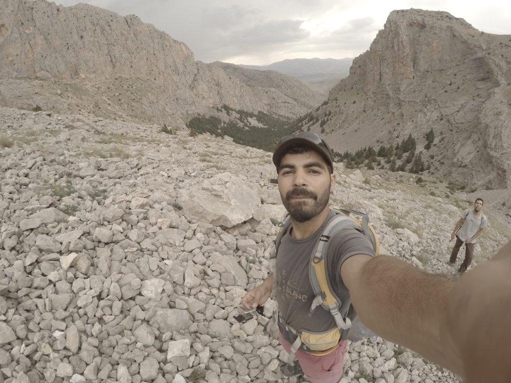 Tırmanış günü öncesi, rotaya giderken