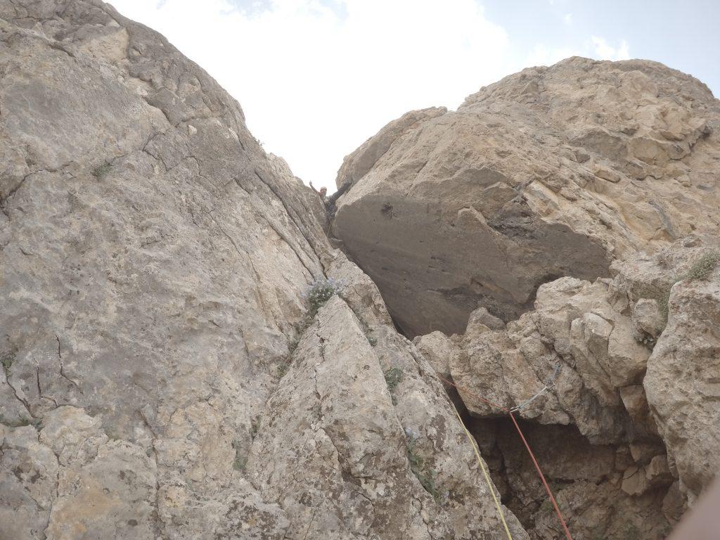 Yavuz, Takoz kaya etabınının sonunda